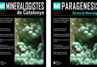 Nova revista Mineralogistes de Catalunya 2019-2 i Paragénesis 2019-2