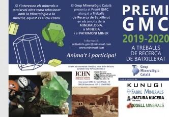 Premi GMC 2019-2020 a treballs de recerca de batxillerat