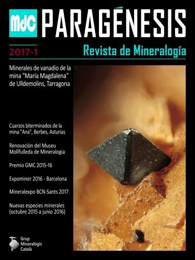 Paragénesis. Revista de Mineralogía (2017-1)
