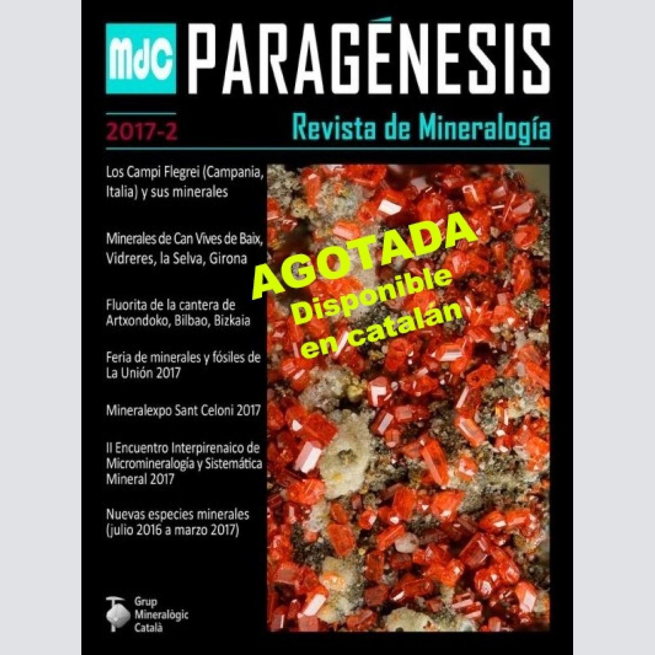 Paragénesis. Revista de Mineralogía (2017-2)