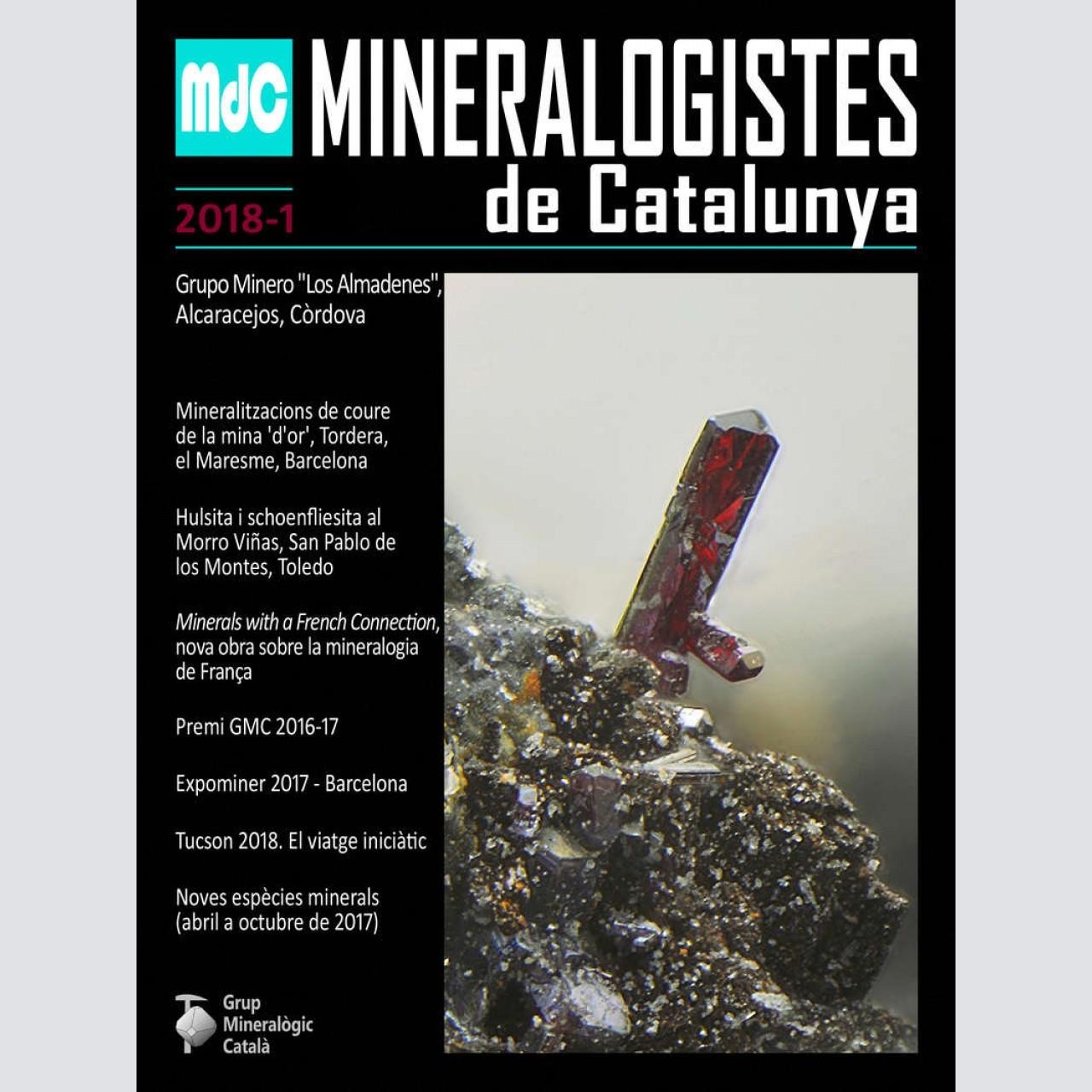 Mineralogistes de Catalunya (2018-1)