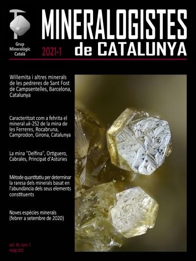 <em>Mineralogistes de Catalunya</em> (2021-1)