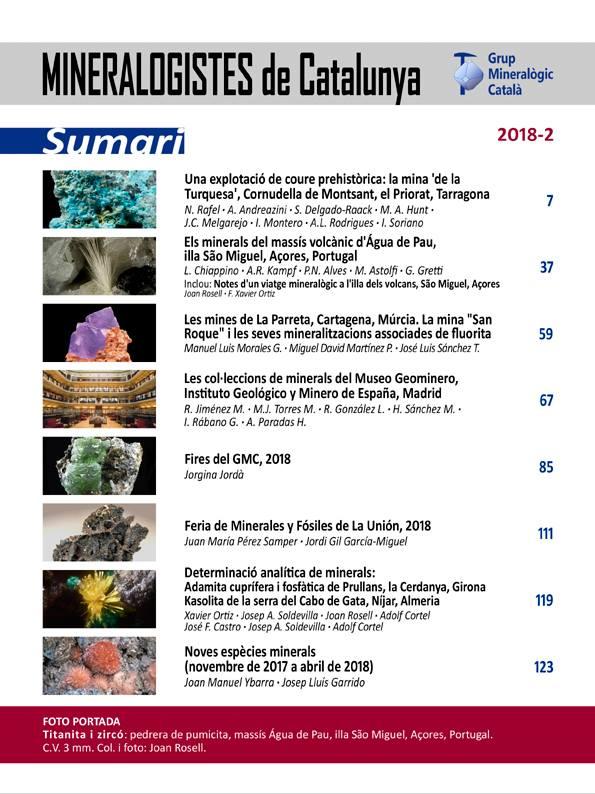 <em>Mineralogistes</em> (2018-2) - Sumari